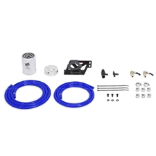 Mishimoto MMCFK-F2D-08BL Coolant Filter Kit Blue for 2008-2010 Ford 6.4L Powerstroke