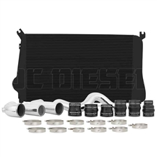 Mishimoto MMINT-DMAX-11KBK Intercooler Kit for 2011-2016 GM 6.6L Duramax LML