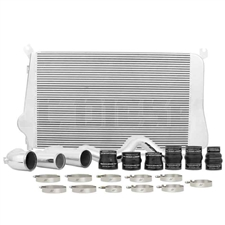 Mishimoto MMINT-DMAX-11KSL Intercooler Kit for 2011-2016 GM 6.6L Duramax LML