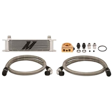 Mishimoto MMOC-U 10-Row Universal Oil Cooler Kit