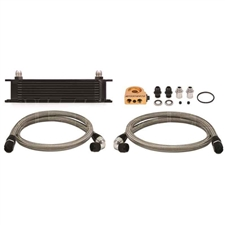 Mishimoto MMOC-UTBK 10-Row Universal Oil Cooler Kit