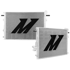 Mishimoto MMRAD-F2D-11 Aluminum Primary Radiator for 2011-2016 Ford 6.7L Powerstroke