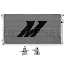 Mishimoto MMRAD-F2D-11S Aluminum Secondary Radiator for 2011-2016 Ford 6.7L Powerstroke