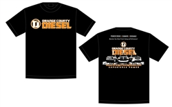Orange County Diesel T Shirt Black