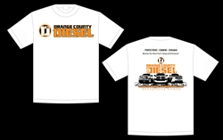 Orange County Diesel T Shirt White
