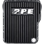 PPE Diesel 128051020 Black Deep Tranmission Pan 2001-2011 GM 6.6L Duramax
