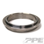 PPE Diesel 5170320 Interlocking V-Band Exhaust Flange Engine Side 1994-2007 Dodge 5.9L Cummins
