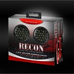 Recon 264152BK Running Light Daytime Round Style Smoked