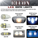 Recon 264163 Dome Light Replacement Kit Ford Package