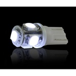 Recon 264201WH LED Light Bulb White 194/168 360 Degree