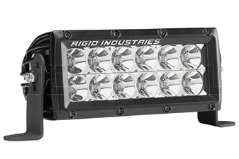 "Rigid Industries 106112MIL E-Series 6"" Flood MIL-STD-461F"