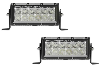 "Rigid Industries 106312EM E-Mark E-Series 6"" Spot Pair"