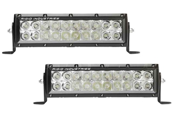 "Rigid Industries 110412EM E-Mark E-Series 10"" Spot and Flood Pair"
