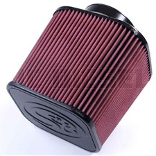 S&B Filters Intake Replacement Air Filter - Cotton (Cleanable) KF-1000