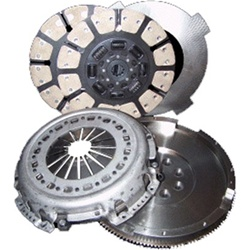 South Bend Clutch 1939DF Ford 400HP Single Disc Clutch Kit for 1999-2004 Ford Powerstroke 7.3L Trucks