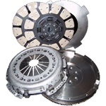 South Bend Clutch SDD3250-6 Dodge 550-750HP Street Dual Disc Clutch Replacement for 2000.5-2009 Dodge Cummins 5.9L Trucks