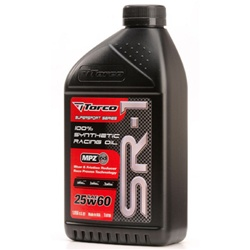 Torco SR-1 Synthetic Racing Oil 25w60 - TC A162560CE