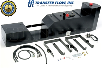 Transfer Flow 080-BL-12755 45 Gallon Midship Replacement Fuel Tank for 2004-2010 GM 6.6L Duramax LLY, LBZ, LMM