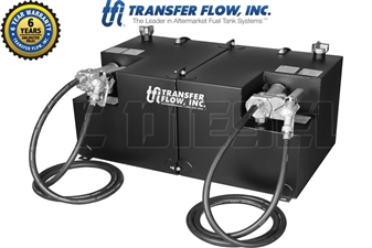 Transfer Flow 080-BL-13244 50/50 Gallon Split Refueling Dual-Tank System