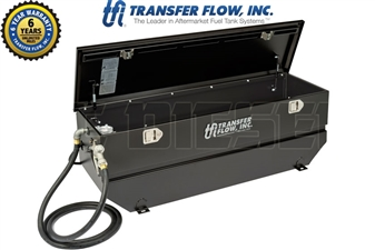Transfer Flow 080-BL-15195 40 Gallon Toolbox Refueling Tank System Combo