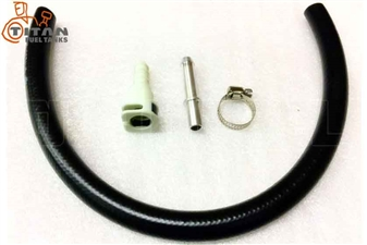 Titan Fuel Tanks 0299007 Fuel Line Extension Kit for 2010-2012 Dodge 6.7L Cummins
