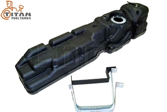 Titan Fuel Tanks 7030210 56 Gallon Mid-Ship Fuel Tank for 2010-2012 Dodge 6.7L Cummins