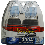 Vision X VX-D9004 Halogen Bulb Set 9004 45/65 Watt Hi/Low Beam Dot Approved Superwhite