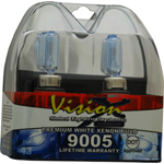 Vision X VX-D9005 Halogen Bulb Set 9005 65 Watt Hi Beam Dot Approved Superwhite