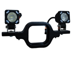 Vision X XIL-SRECEIVER Trailer Hitch Mount Solstice Solo For 2 Lights
