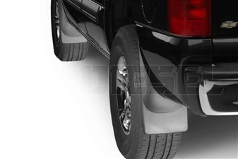 WeatherTech 110006-120006 MudFlaps Set for 2001-2007 GM 6.6L Duramax LB7, LLY, LBZ