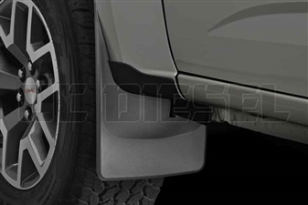 WeatherTech 110049 Front MudFlaps for 2015-2017 GM 2.8L Duramax LWN