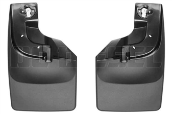 WeatherTech 110066 Front MudFlaps for 2017 Ford 6.7L Powerstroke