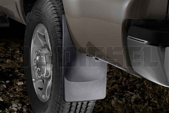 WeatherTech 120020 Rear MudFlaps for 2011-2016 Ford 6.7L Powerstroke