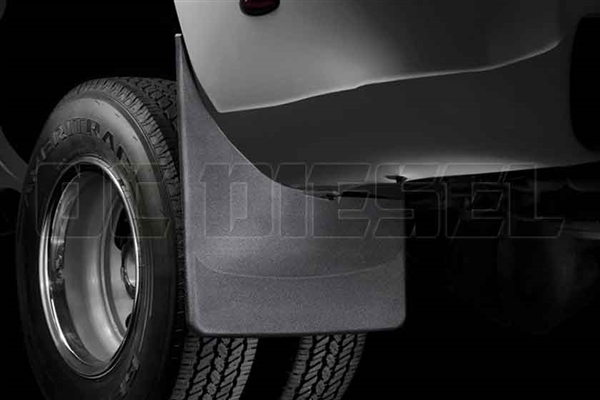 WeatherTech 120027 Rear MudFlaps for 2001-2007 GM 6.6L Duramax LB7, LLY, LBZ