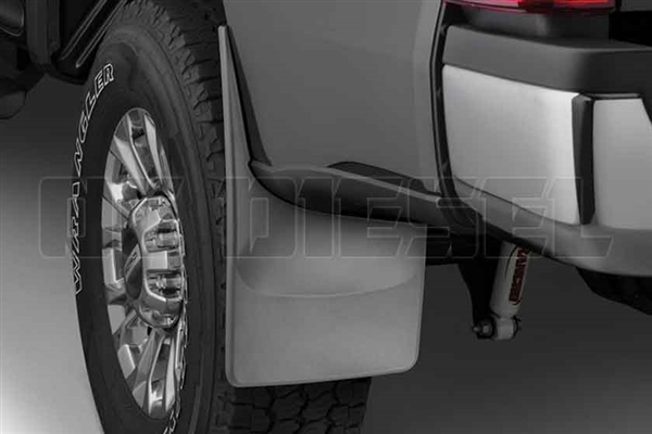 WeatherTech 120065 Rear MudFlaps for 2017 Ford 6.7L Powerstroke