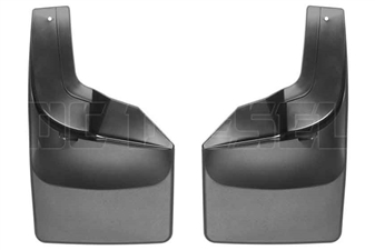 WeatherTech 120066 Rear MudFlaps for 2017 Ford 6.7L Powerstroke
