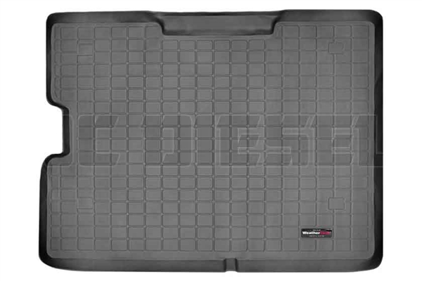 WeatherTech 40153 Black Cargo Liners for 2000-2005 Ford 7.3L, 6.0L Powerstroke
