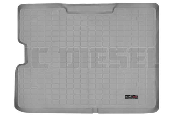 WeatherTech 42153 Grey Cargo Liners for 2000-2005 Ford 7.3L, 6.0L Powerstroke