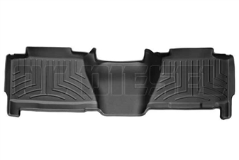 WeatherTech 440625 Black Rear FloorLiner for 2004-2007 GM 6.6L Duramax LLY