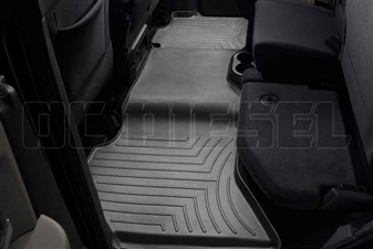 WeatherTech 442163 Black Rear FloorLiner for 2010-2017 Dodge 6.7L Cummins