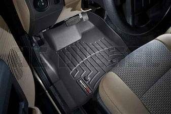 WeatherTech 443211 Black Front FloorLiner for 2011-2012 Ford 6.7L Powerstroke
