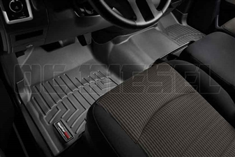 WeatherTech 443281 Black Front FloorLiner for 2010-2012 Dodge 6.7LCummins
