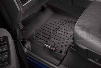 WeatherTech 444651 Black Front FloorLiner for 2012-2016 Dodge 6.7L Cummins