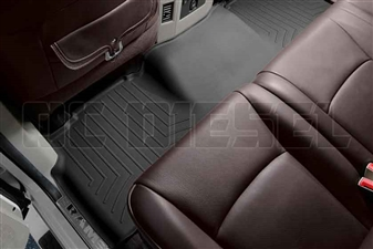 WeatherTech 444772 Black Rear FloorLiner for 2009-2017 Dodge 6.7L Cummins