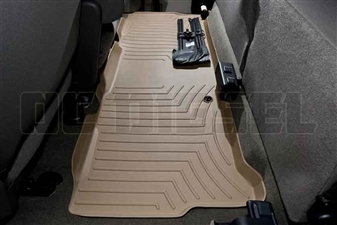 WeatherTech 450023 Tan Rear FloorLiner for 1999-2010 Ford 7.3L, 6.0L, 6.4L Powerstroke