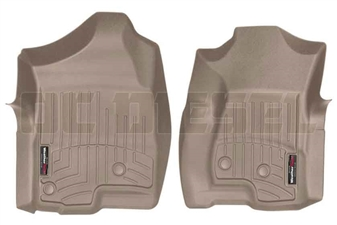 WeatherTech 450031 Tan Front FloorLiner for 2001-2007 GM 6.6L Duramax LB7, LLY, LBZ
