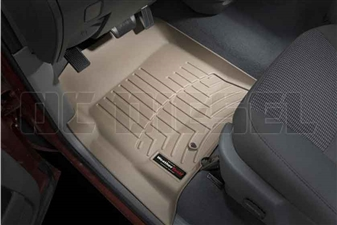 WeatherTech 450041 Tan Front FloorLiner for 2003-2009 Dodge 5.9L, 6.7L Cummins