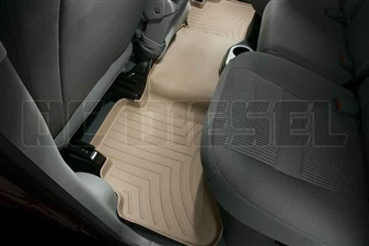 WeatherTech 450042 Tan Rear FloorLiner for 2003-2009 Dodge 5.9L, 6.7L Cummins