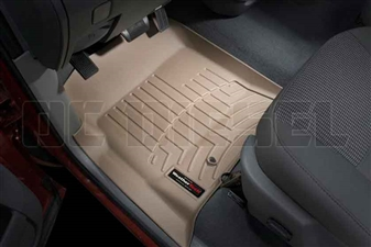 WeatherTech 450121 Tan Front FloorLiner for 2003-2009 Dodge 5.9L, 6.7L Cummins