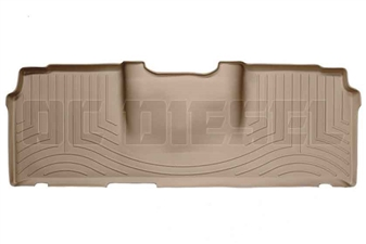 WeatherTech 450123 Tan Rear FloorLiner for 2006-2017 Dodge 5.9L, 6.7L Cummins